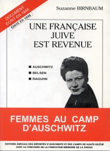 Une française juive est revenue - Suzanne Birbaum